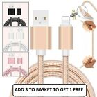 1M 2M Strong Duty Braided Lightning USB Charger Cable For iPhone 5 6 7 8 X