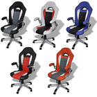 #Executive Racing Style Bucket Seat Office Chair Desk Task Chair Swivel 5 Colors