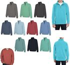 MEN'S MID-WEIGHT, 1/4 ZIP SWEATSHIRT, SOFT, WASHED GARMENT DYED, PULLOVER XS-3XL
