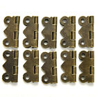 10/20pcs Decorative Vintage Mini Butterfly Hinges For Cabinet BLBD
