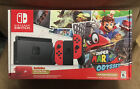 Nintendo Switch Super Mario Odyssey Edition Console (with Red Joy-Cons) + EXTRAS