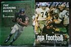 "VINTAGE NFL FOOTBALL BOOKS- ""PRO FOOTBALL"" (1972) & ""THE RUNNING BACKS"" (1969)"