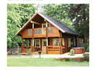 Cabin kit 1,472 ft 2 Story 3 Bed Wooden Guest House/home. Custom. free shipping
