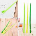 5Pcs 0.5mm Black Ink Green Grass Gel Pen Decorated Stationery Good Writting Pens