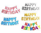 Внешний вид - 16' Large 13pc Foil Banner Happy Birthday Letters Balloon Party Decoration