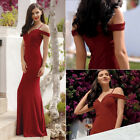 Ever-Pretty Long Formal Off Shoulder Party Dress Bridesmaid Wedding Dress 07017