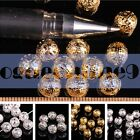 Gold/Sliver Hollow Round Copper Ball Spacer Loose Beads  DIY Jewelry 4/6/8/mm