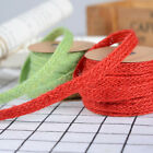5 Meters 1cm Wide Eco Colorful Jute Braided Rope Gift Box String DIY Craft BJ04E