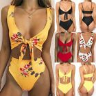 UK Womens Bikini Set Swimsuit High Waist Ladies Bathing Suit Swimwear Beachwear