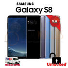 NEW Samsung GALAXY S8 Gray Silver Black Blue SM-G950U1, Factory Unlocked