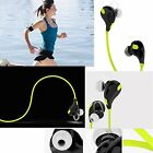 Sports Bluetooth Earbud Earphone Handsfree For Samsung S8 Plus S7 S6 Edge Note 8