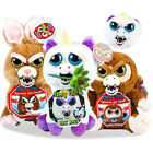 Feisty Pets Animal Soft Plush Stuffed Scary Face Toy Doll Fun With Attitude Xmas