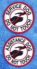 Service Dog Do Not Touch Patch 3 Support Medical Assistance Disabled Danny LuAnn