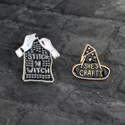Gothic Pin Set Badge Witch Ouija Tarot Skull Skeleton Alien Kawaii Kitty Planet