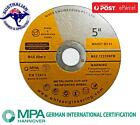 """1200 of 5"""" 125mm Cutting Discs Wheel Thin Angle Grinder Cut Off Metal Steel Flap"""