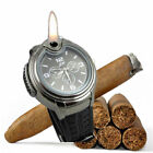 Mens Watche Butane Big Cigarette Cigar Lighter Refillable Wrist Watch
