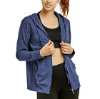 Women's Full Zip Up Active Yoga Gym Casual Jacket Everyday Thin Hoodie