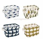Whale Porcupine Animal Pattern Open Toiletry Kit Tool Food Bag jt0210360255