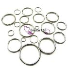 Key Rings Double Split, 304Stainless Steel Rings multi size available, NAP