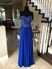 $378 NWT ROYAL JVN BY JOVANI PROM/PAGEANT/FORMAL/WEDDING DRESS/GOWN #34750 SZ 6