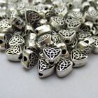 Celtic Knots 6.5mm Antiuqed Silver Plated Spacer Beads B1361 - 20, 50 Or 100PCs
