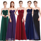 Ever-Pretty Long Formal Party Dress Backless Wedding Bridesmaid Dresses 08864