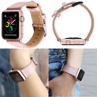 For Apple Watch iWatch Series 1 2 3 Band Genuine Leather Strap Lady Girl