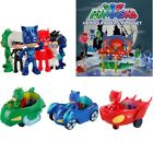 Pj Mask Catboy Owlette Gekko Command Center Car Parking Car Characters Party Toy