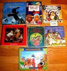 7 CHRISTMAS PICTURE BOOKS LOT~ Little Critter~Santa Pop Up~Mickey Mouse ++ L142