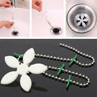 1-10Pcs Sink Hair Remover Flower Sewer Cleaning Hook Tool Kitchen Bathroom Drain