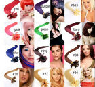"""AAA 20""""-26"""" Remy Human Hair Nail U Tip In Extensions 100s 0.5g/s 50g More Colors"""