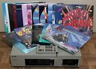 VTG Pioneer LD-1100 LaserDisc Player With Remote & 18 Laserdiscs - Working