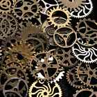100g Watch Parts Steampunk Jewellery Art Craft Cyberpunk Cogs Gears DIY Charms