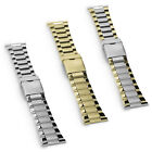 26mm 28mm Fit Stainless Steel Safety Clasp Watch Strap Band Bracelet Mirror Edge