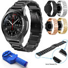 Replacement Metal Bracelet Watch Band For Samsung Gear S3 Frontier Classic 22mm image