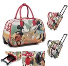 Mickey Mouse Trolley Holdall Bag Minnie Mouse Hand Luggage Travel Handbag M930
