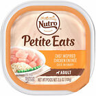 NUTRO PETITE EATS Chef Inspired Chicken Entree Cuts in Gravy Trays Small Breed