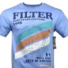 Men's T-shirt FILTER West Coast Culture 1985 City of Angels Made in the USA Tee image