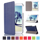 For Samsung Galaxy Tab A E S2 Smart Leather Stand Rugged Flip Armor Case Cover