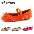 Hawkwell Toddler Girls Mary Jane Shoes Flats Kids Ballet Pol