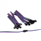 BTF-LIGHTING 10 pairs 4pin SM JST 15cm cable Female/Male connectors For Led Stri