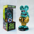 light Green Rat Fink Figure Roth Ed Biig Daddy Funko  Bobblehead Wacky Wobbler
