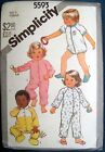 Simplicity 5593, Toddlers Pajamas, PJ's, In 2 Lengths, Size 2, Uncut