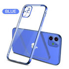 For iPhone X 8 7 6S Plus Case Electroplate Silicone Ultra Slim Clear Soft Cover <br/> New For Apple iPhone 11 Pro 11 Pro Max XS Max XS XR !!!