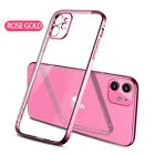 For iPhone X 8 7 6S Plus Case Electroplate Silicone Ultra Slim Clear Soft Cover <br/> New For Apple iPhone XS Max 6.5&quot; / XS 5.8&quot; / XR 6.1&quot;!!!