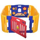 Foldable Safety Baby Kid Kids Play Garden Fence Yard Safe With Optional Playmats