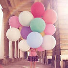 "2Pcs 36"" Inch Giant Large Big Latex Ballon Wedding Home Party Helium BH"