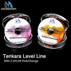 Maxcatch 32.8yds Tenkara Level Line #3 Hi-Vis Pink Fluorocarbon Fly Fishing
