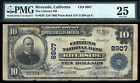 $10 1902 Citizens National Bank of Riverside, California CH 8907 PMG 25 16 LARGE