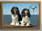 King Charles Spaniels A4 Picture Clock
